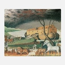 Noahs Ark Throw Blanket