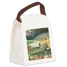 Noahs Ark Canvas Lunch Bag