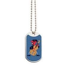 beatnik-bass-STKR Dog Tags