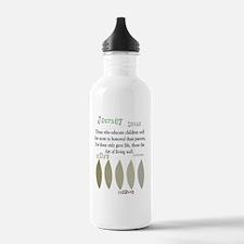 retired teacher aristo Water Bottle