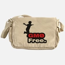 GMO Free Messenger Bag