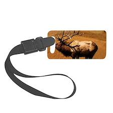 Big Wild Elk Luggage Tag