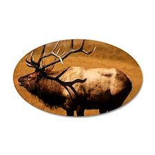 Big Wild Elk Wall Decal