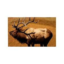Big Wild Elk 3'x5' Area Rug