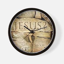 Names of Jesus Christ Wall Clock