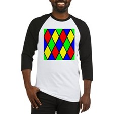 Colored Diamonds Baseball Jersey