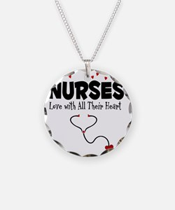 Nurses Love With All Their H Necklace