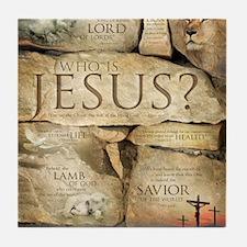 Names of Jesus Christ Tile Coaster