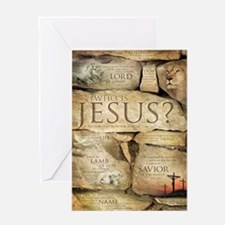Names of Jesus Christ Greeting Card