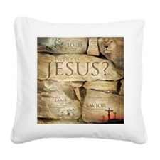 Names of Jesus Christ Square Canvas Pillow