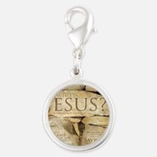 Names of Jesus Christ Silver Round Charm