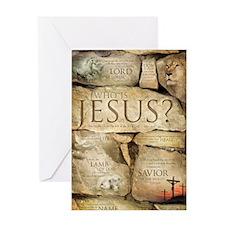 Names of Jesus Christ Greeting Card