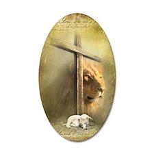 Lion of Judah, Lamb of God Wall Decal