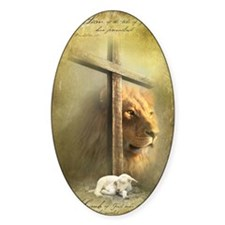 Lion of Judah, Lamb of God Decal