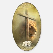Lion of Judah, Lamb of God Stickers