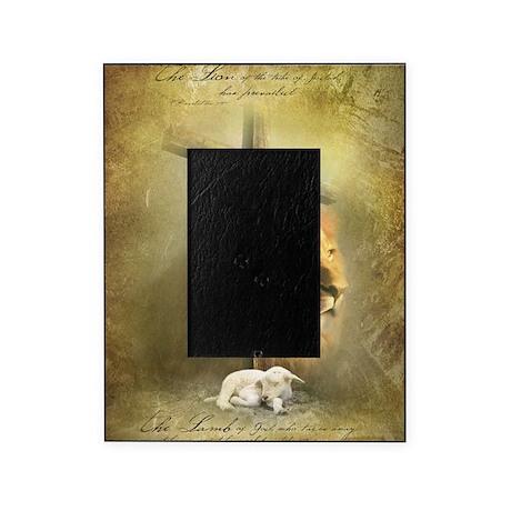lion of judah lamb of god picture frame by admin cp111351336. Black Bedroom Furniture Sets. Home Design Ideas