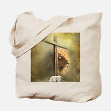 Lion of Judah, Lamb of God Tote Bag