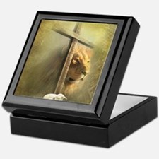 Lion of Judah, Lamb of God Keepsake Box