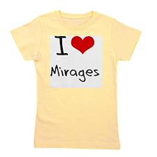 I Love Mirages Girl's Tee