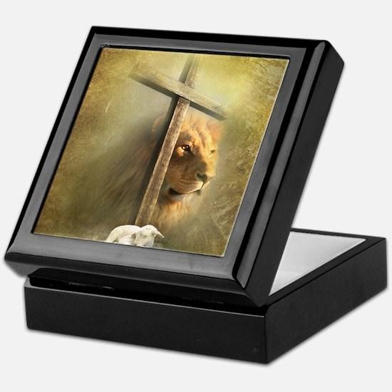 Lion of Judah, Lamb of God Keepsake Box