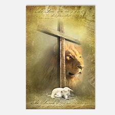 Lion of Judah, Lamb of Go Postcards (Package of 8)
