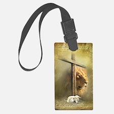 Lion of Judah, Lamb of God Luggage Tag