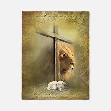 Lion of Judah, Lamb of God Twin Duvet