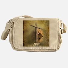 Lion of Judah, Lamb of God Messenger Bag