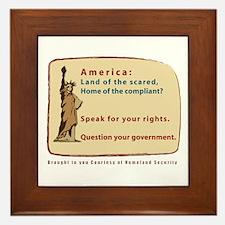 Question Government Tile (Framed)
