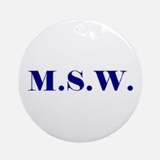 MSW Ornament (Round)