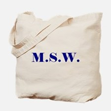 MSW Tote Bag