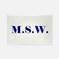 MSW Rectangle Magnet