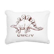 UWC / V Light Shirt Rectangular Canvas Pillow