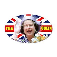 HM Queen Elizabeth II Wall Decal