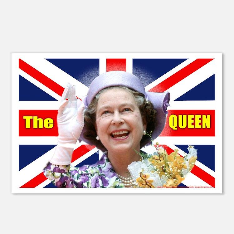 HM Queen Elizabeth II Postcards (Package of 8)