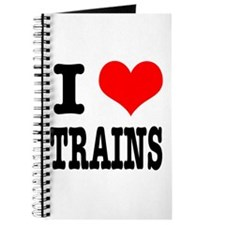 I Heart (Love) Trains Journal