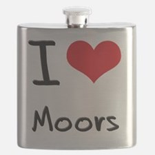 I Love Moors Flask