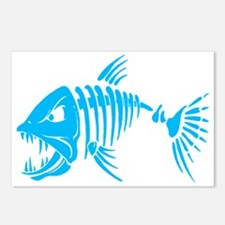 Pirate fish Postcards (Package of 8)