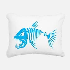 Pirate fish Rectangular Canvas Pillow