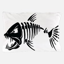Scary fish Pillow Case
