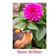 Birthday Wishes With Dahl Postcards (Package of 8)