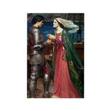Tristan and Isolde The Potion Rectangle Magnet