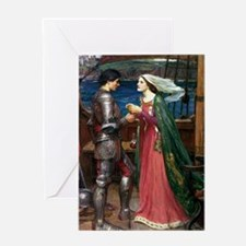Tristan and Isolde The Potion Greeting Card
