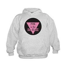 Pink New Black Hoodie