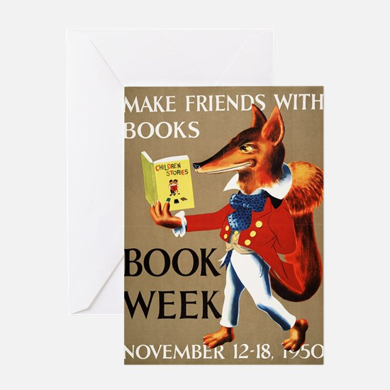 1950 Childrens Book Week Greeting Card