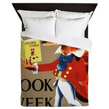 1950 Childrens Book Week Queen Duvet