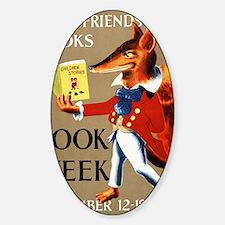 1950 Childrens Book Week Decal