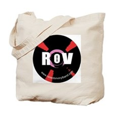 Raised on Vinyl Round design Tote Bag