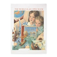 1991 Childrens Book Week 5'x7'Area Rug