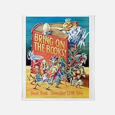 1984 Childrens Book Week Throw Blanket